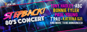 Stepback! the 80s Tour - Nottingham - 27th October 2018