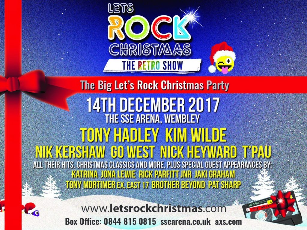 LET'S ROCK CHRISTMAS – 14TH DECEMBER 2017