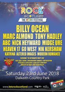 Let's Rock Scotland 23rd June 2018