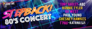Stepback! the 80s Tour - Liverpool - 28th October 2018